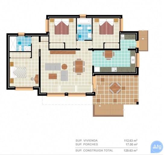 2 bedroom Apartment in Benijófar  - RIK115854 - 2