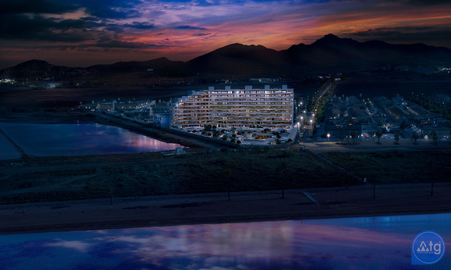 2 bedroom Apartment in La Manga  - UBA116859 - 4