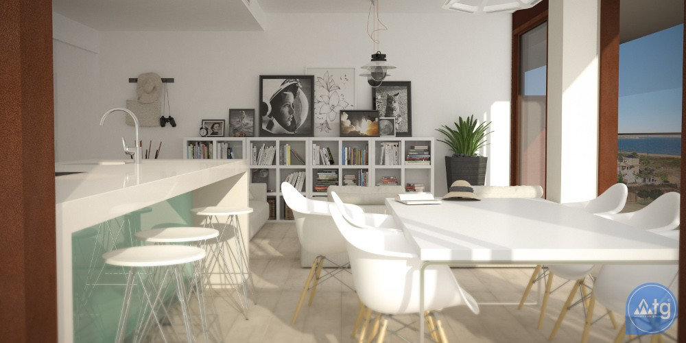 2 bedroom Apartment in La Manga  - UBA116859 - 6