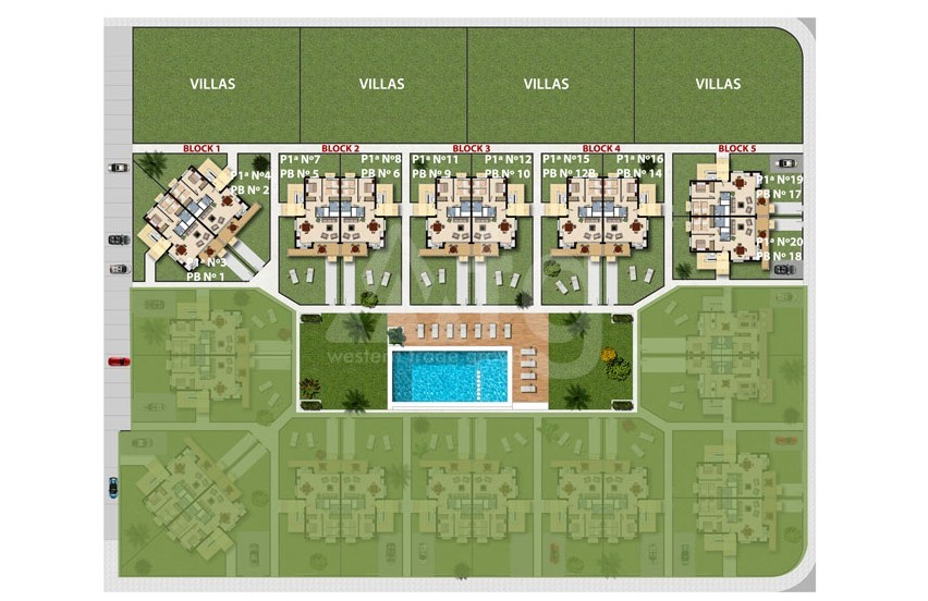 2 bedroom Apartment in La Zenia  - ER7074 - 11