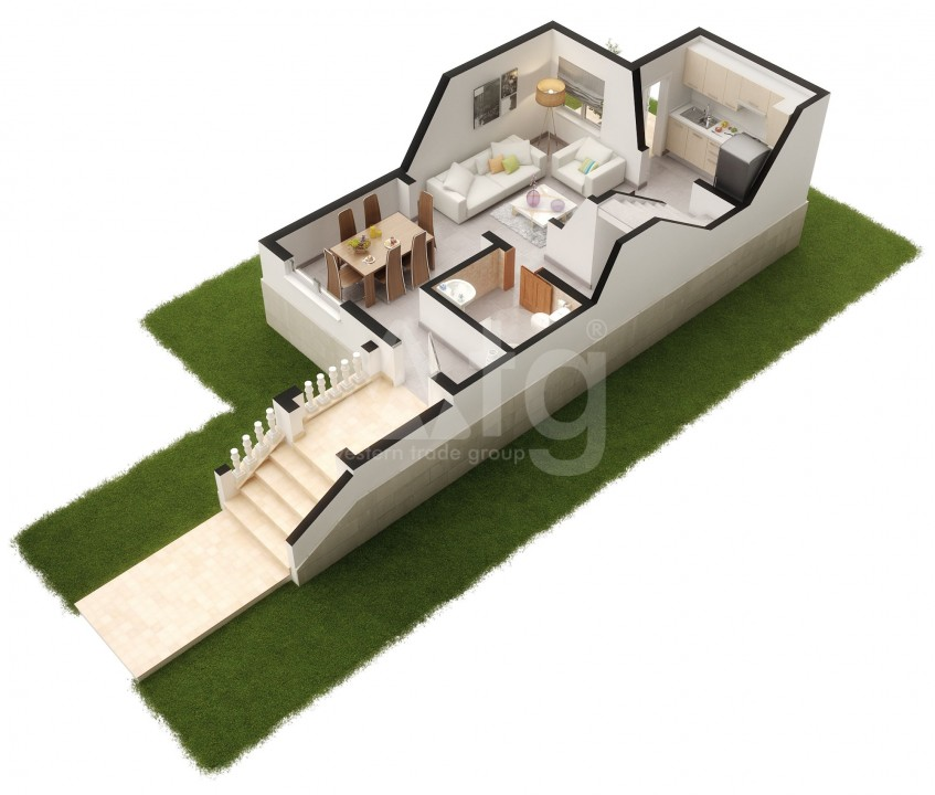 3 bedroom Apartment in Punta Prima - GD6285 - 21