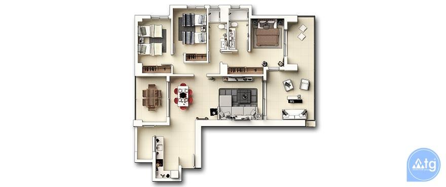 3 bedroom Apartment in Punta Prima - GD6285 - 28