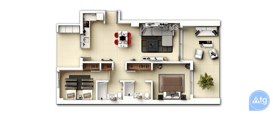 3 bedroom Apartment in Punta Prima - GD6285 - 30