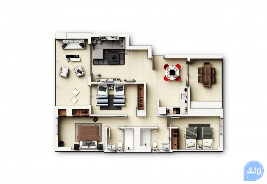 3 bedroom Apartment in Punta Prima  - GD118809 - 42