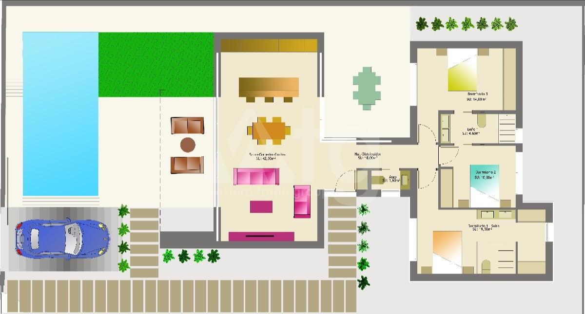 5 bedroom Villa in San Miguel de Salinas  - GEO8695 - 2