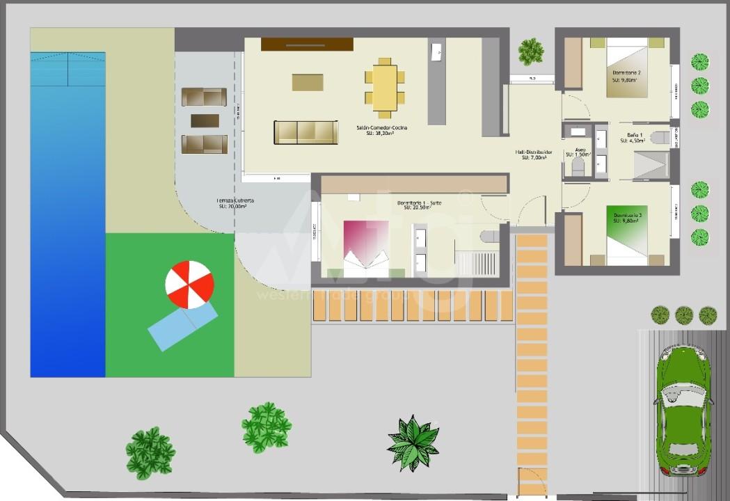5 bedroom Villa in San Miguel de Salinas  - GEO8695 - 9