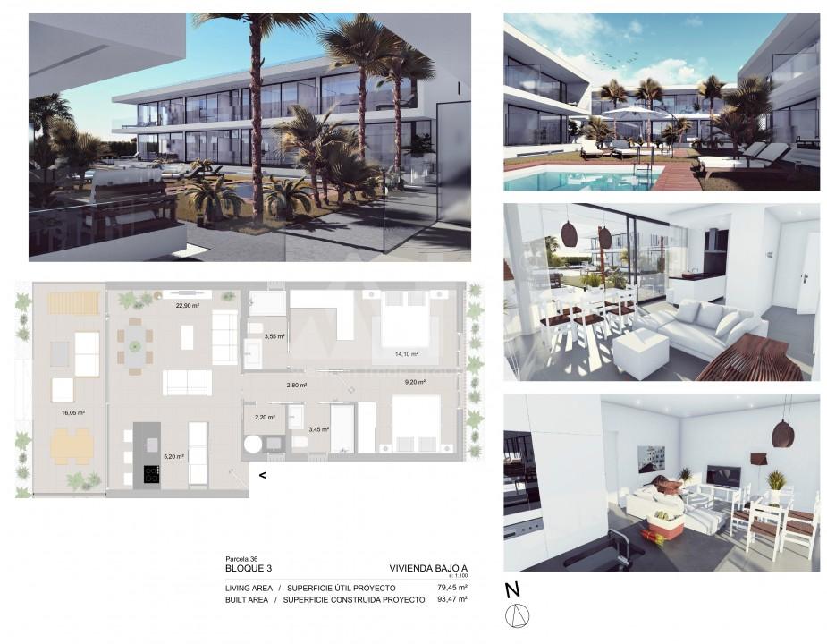 Appartement de 2 chambres à Mar de Cristal - CVA115781 - 11