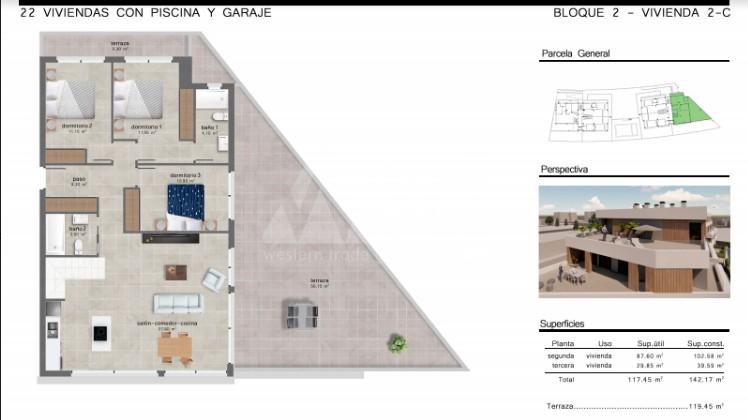 4 bedroom Penthouse in San Javier  - GU114725 - 10