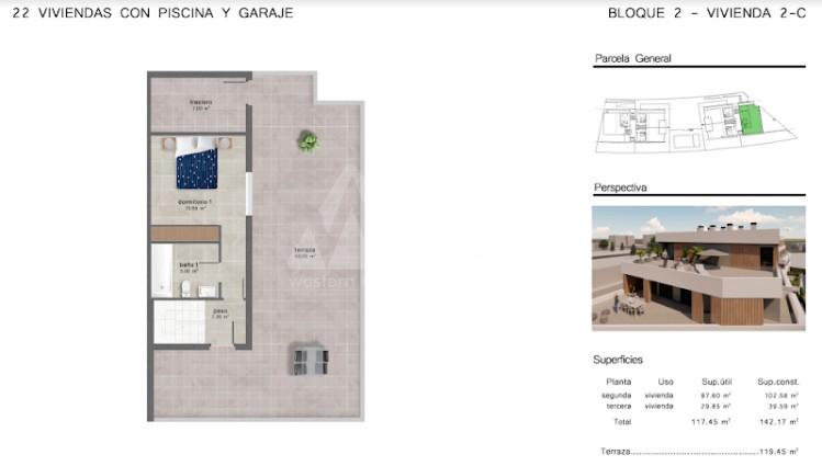 4 bedroom Penthouse in San Javier  - GU114725 - 11