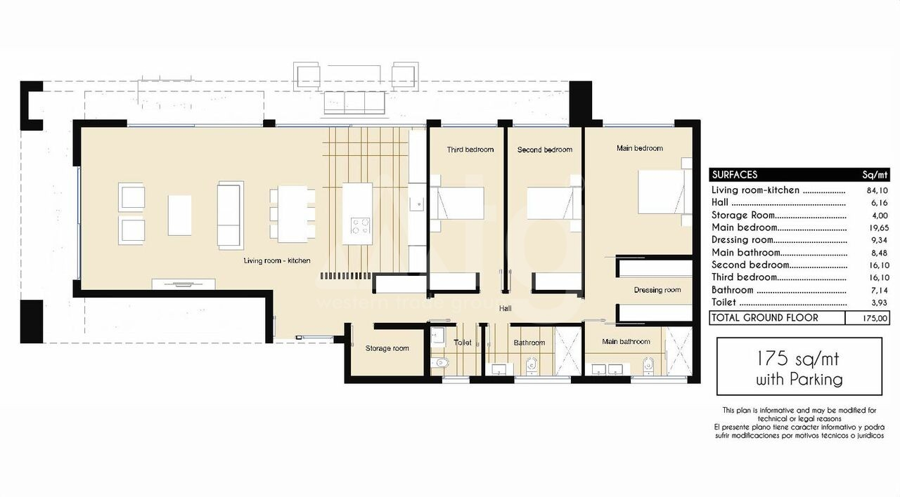 3 bedroom Apartment in Torrevieja - AG9572 - 5