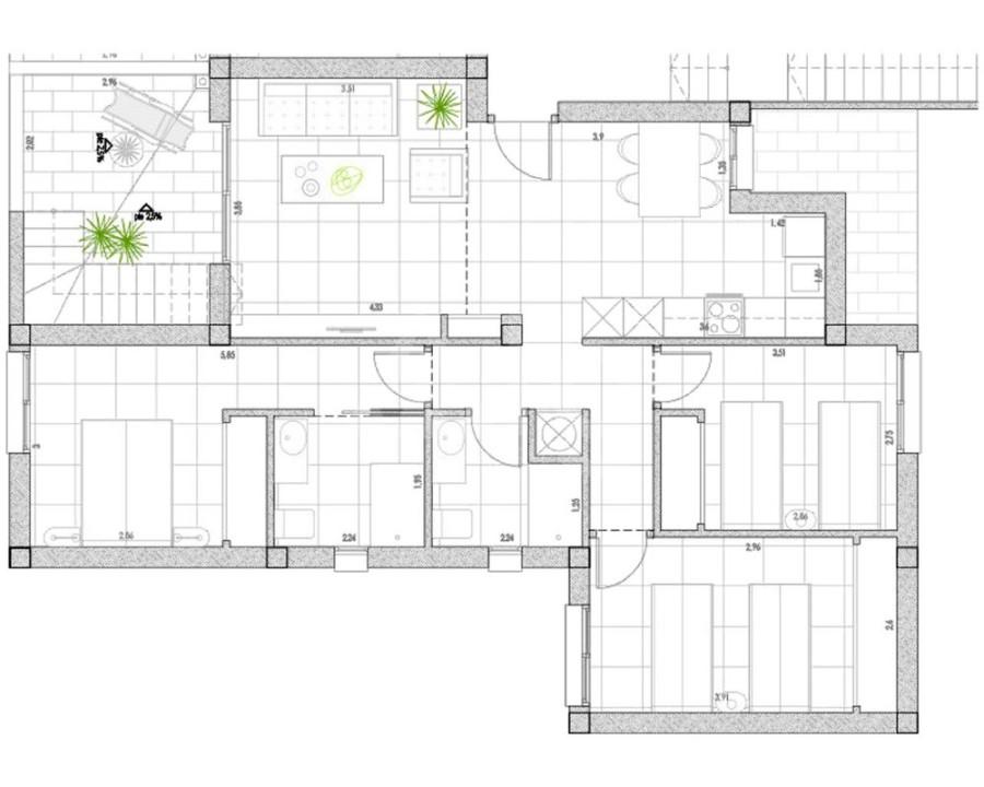 Апартаменты в Лос Гуардинес, 2 спальни - OI8152 - 6