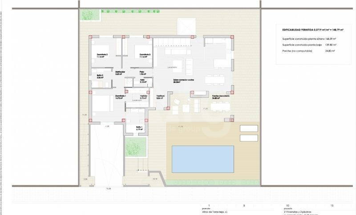 Appartement de 2 chambres à San Pedro del Pinatar - GU114773 - 20
