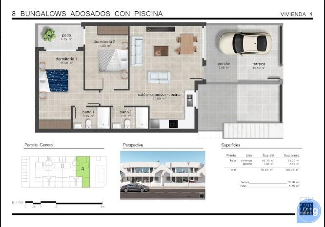 Appartement de 2 chambres à San Pedro del Pinatar - GU114773 - 23