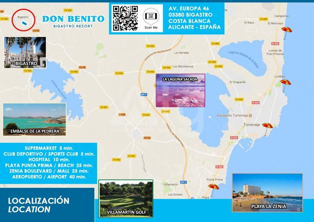 Appartement de 3 chambres à Torrevieja - MS115090 - 15