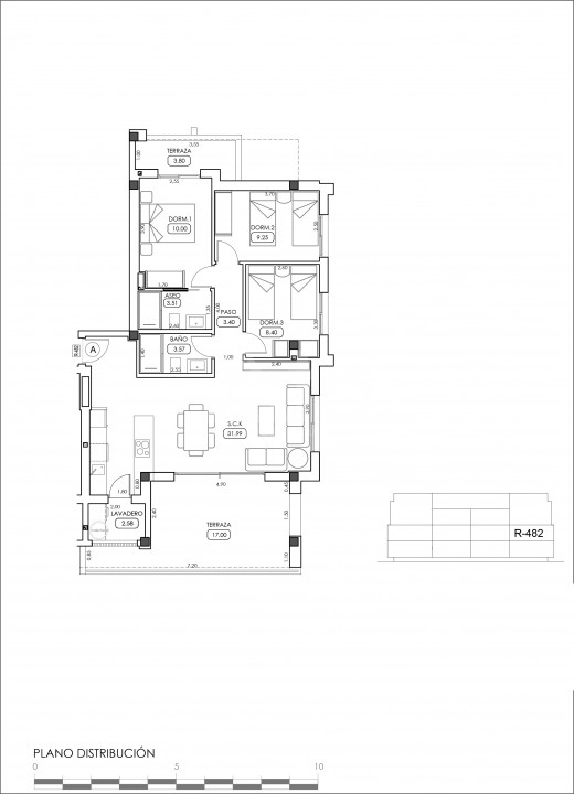 Appartement de 2 chambres à Villamartin - TRI114861 - 32