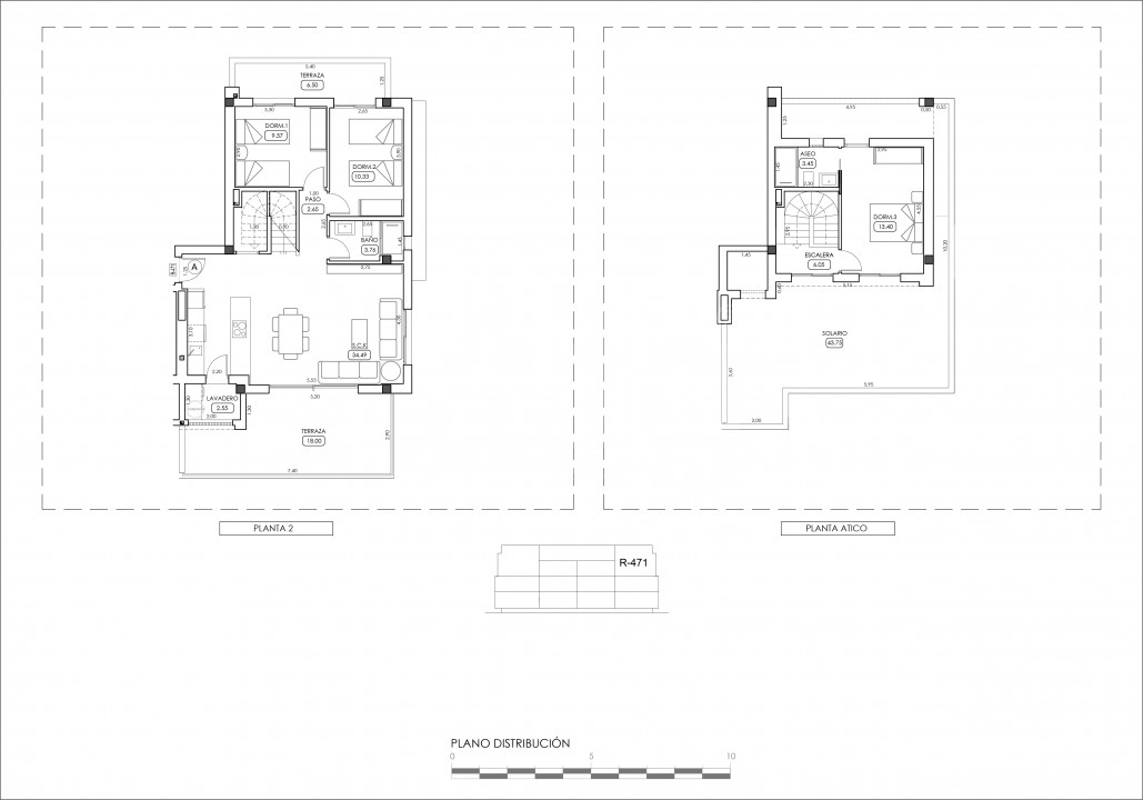 Appartement de 2 chambres à Villamartin - TRI114861 - 35