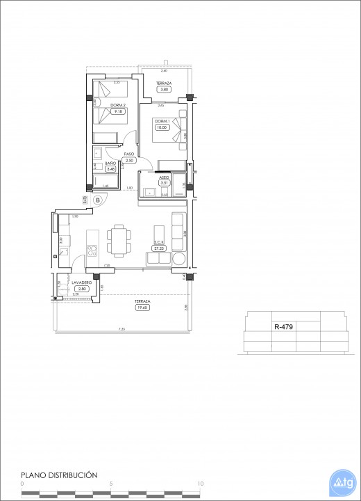Appartement de 2 chambres à Villamartin - TRI114861 - 49