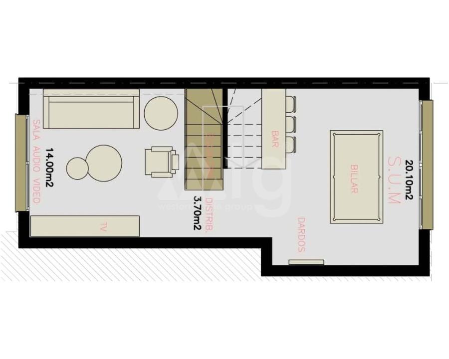 Appartement de 3 chambres à Alicante - IM8261 - 17