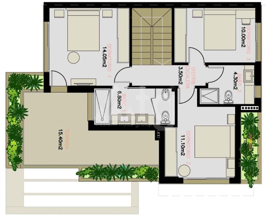 Appartement de 3 chambres à Alicante - IM8261 - 18