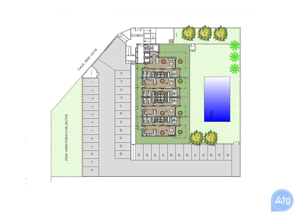 Appartement de 2 chambres à Guardamar del Segura - AGI5957 - 8