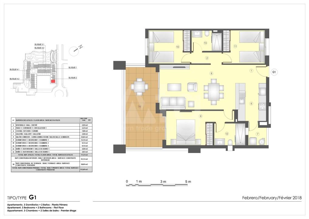 Appartement de 2 chambres à Murcia - OI7489 - 11