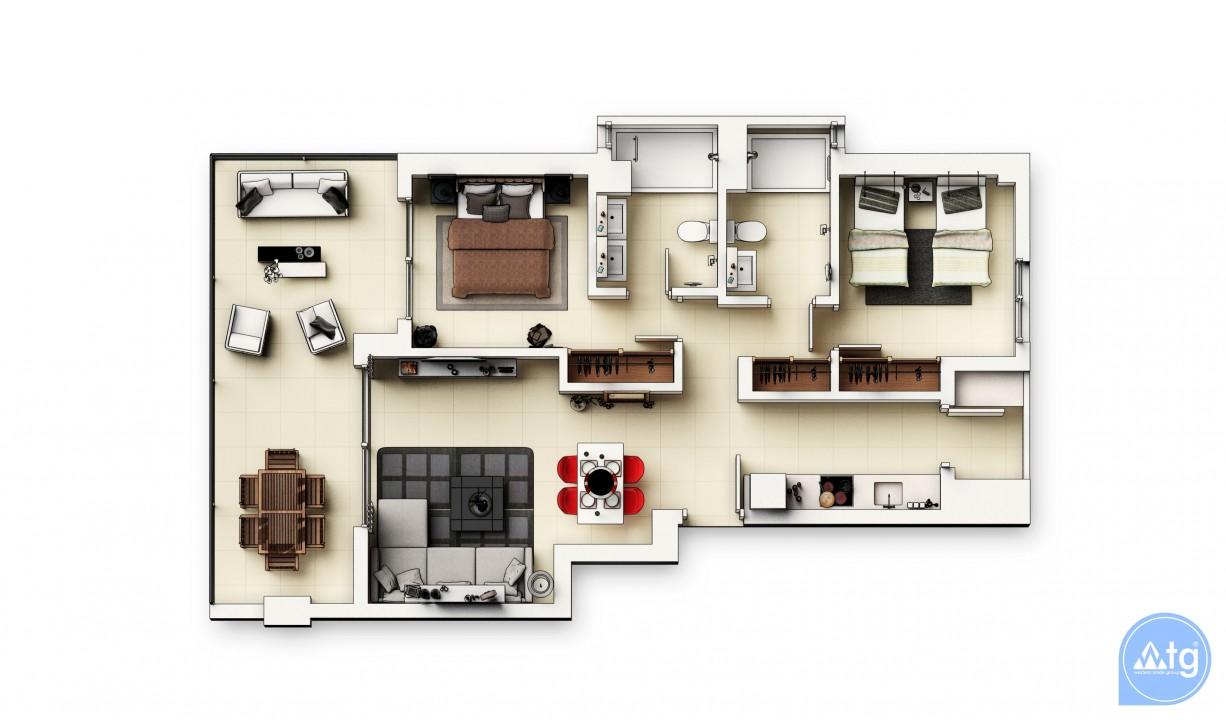 Appartement de 2 chambres à Punta Prima - GD114493 - 45