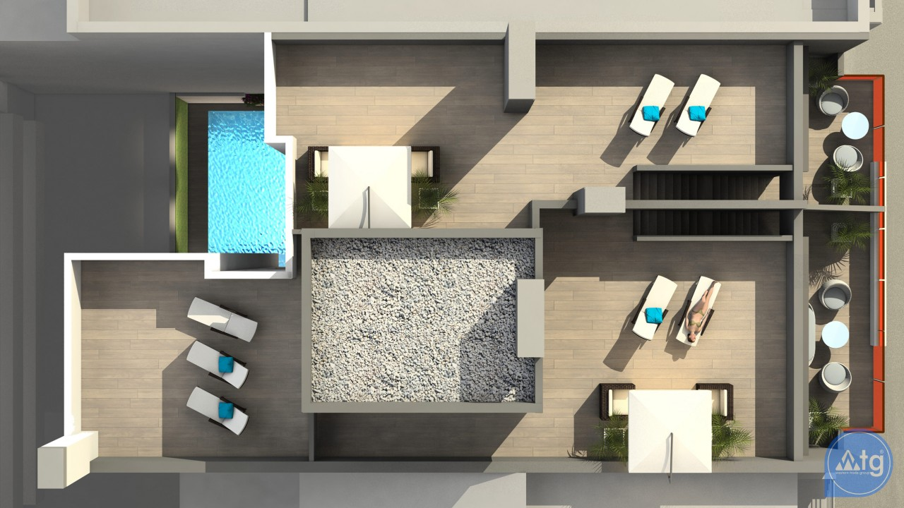 Appartement de 2 chambres à Torrevieja - AG117455 - 5