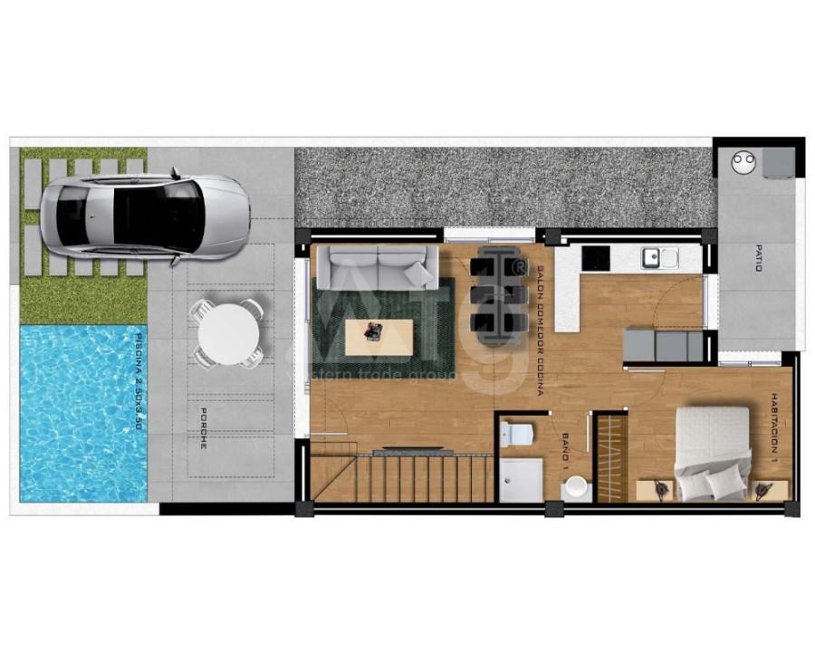 Appartement de 2 chambres à Villamartin - GB7801 - 21