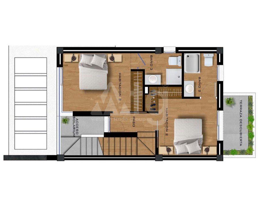 Appartement de 2 chambres à Villamartin - GB7801 - 22