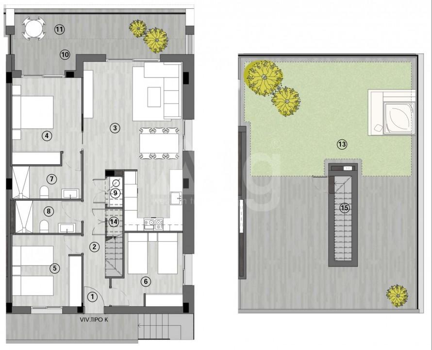 Appartement de 3 chambres à Gran Alacant - GD1113517 - 24