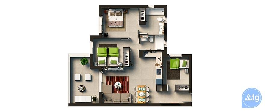 Appartement de 3 chambres à Punta Prima - GD113873 - 21