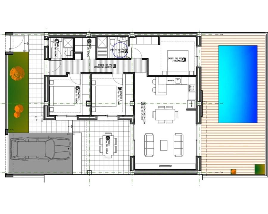 Appartement de 3 chambres à Alicante - IM8264 - 4