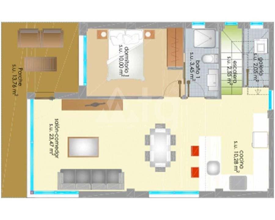 Appartement de 2 chambres à Villamartin - GB7794 - 20