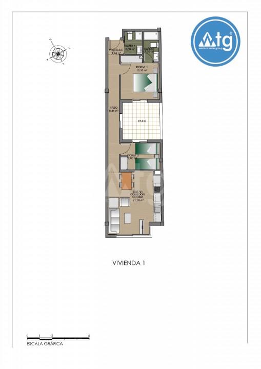 Appartement de 2 chambres à Torrevieja - AGI115481 - 14