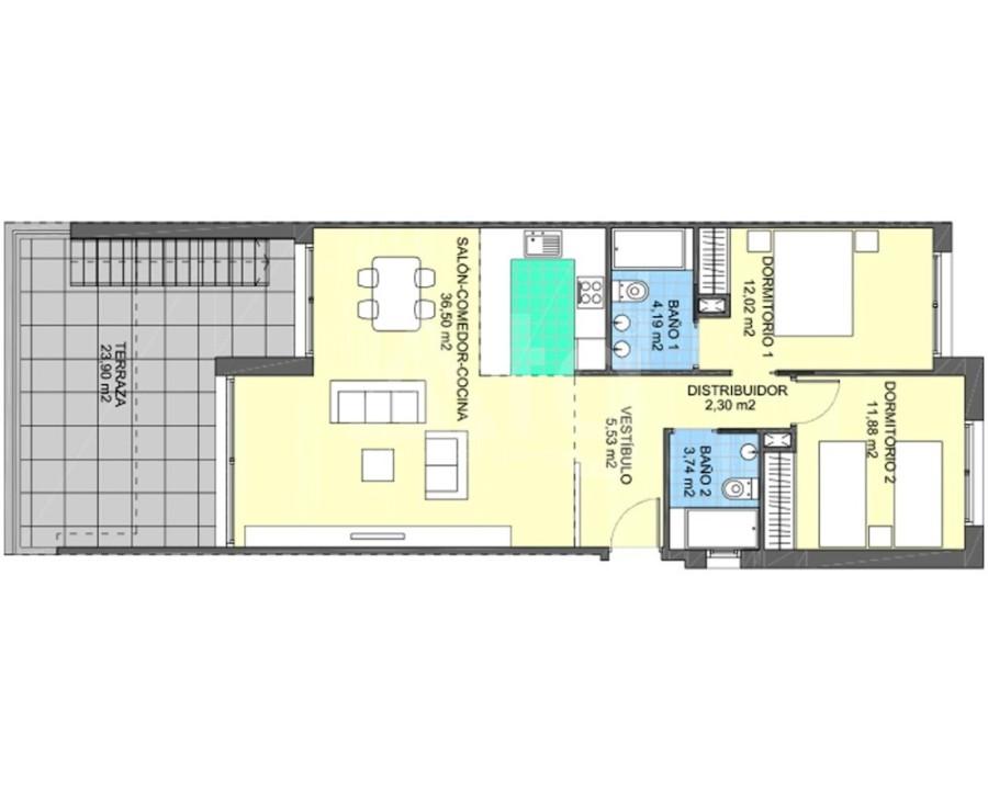3 bedroom Apartment in El Campello - AS8210 - 12