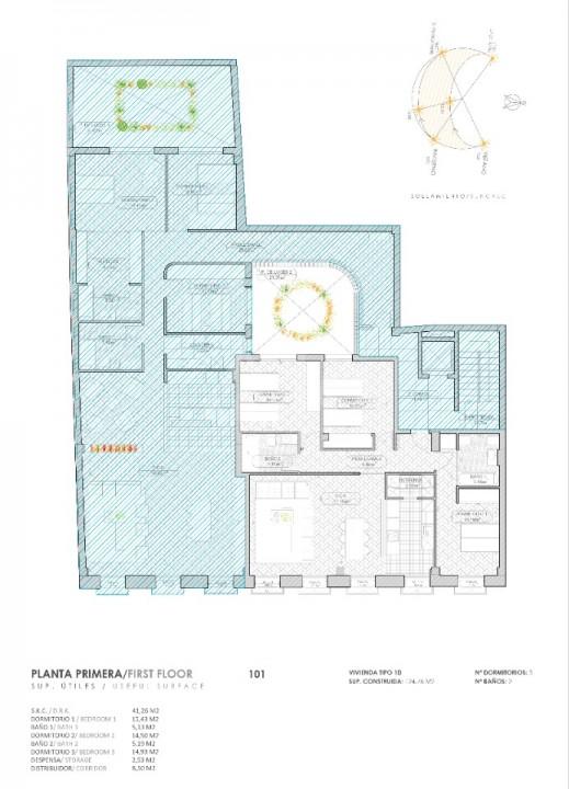 3 bedroom Apartment in Torrevieja - PT8383 - 13