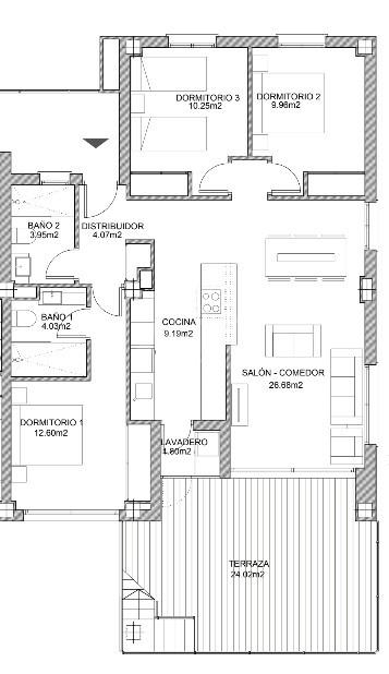 3 bedroom Apartment in Villamartin - VD7908 - 19