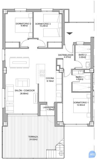 3 bedroom Apartment in Villamartin - VD7908 - 20