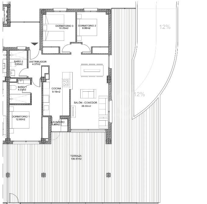 3 bedroom Apartment in Villamartin - VD7908 - 23