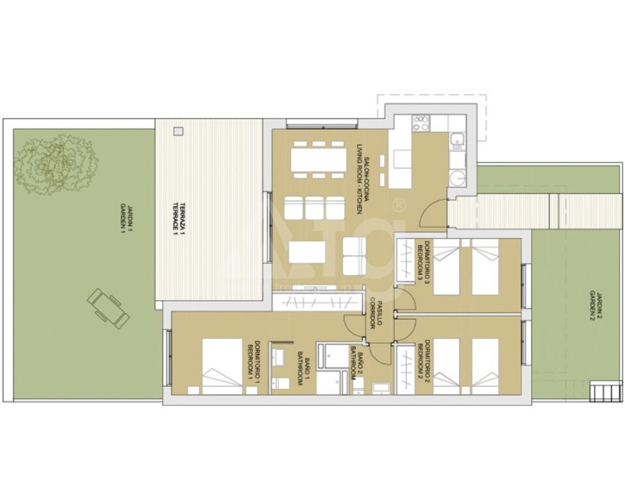 4 bedroom Apartment in Torrevieja - GDO8134 - 8