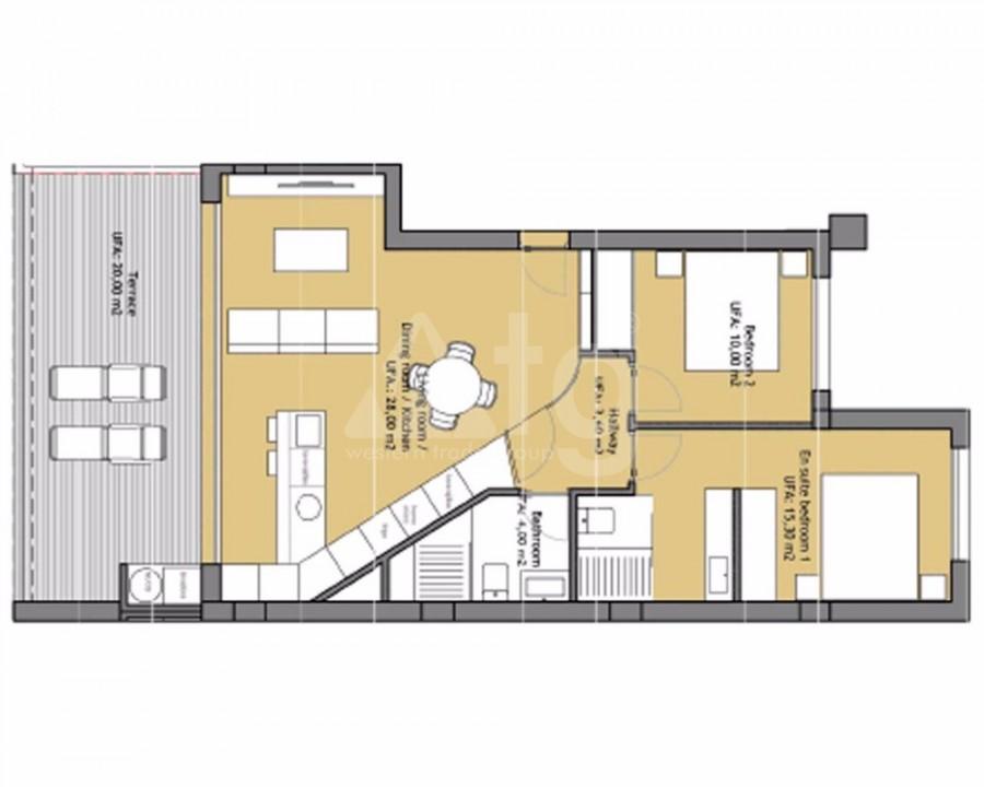2 bedroom Duplex in Finestrat - CAM7715 - 14