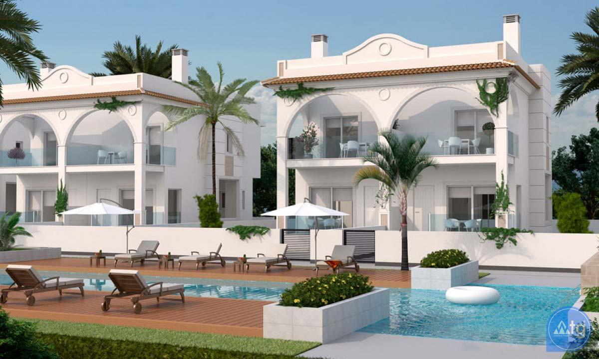 2 bedroom Villa in Ciudad Quesada  - ER8266 - 1