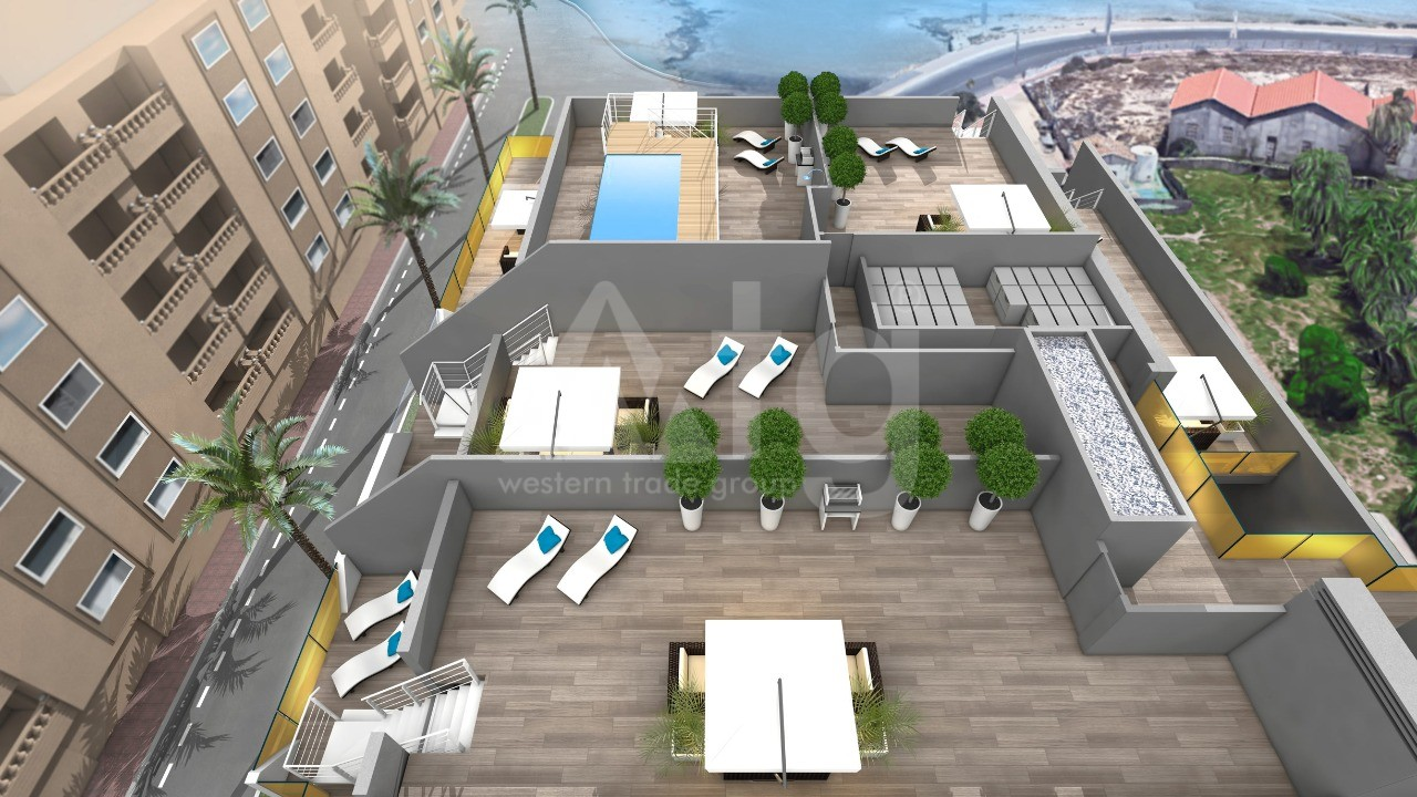 2 bedroom Penthouse in Torrevieja - AG8499 - 16