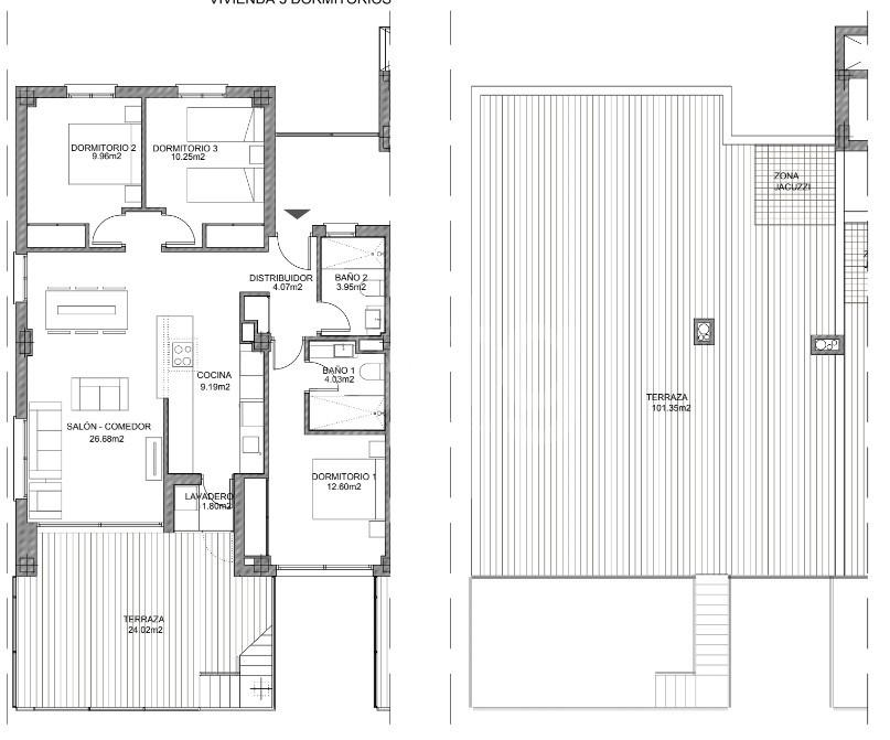 3 bedroom Apartment in Villamartin - VD7905 - 22