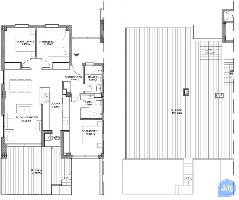 3 bedroom Apartment in Villamartin - VD7905 - 24