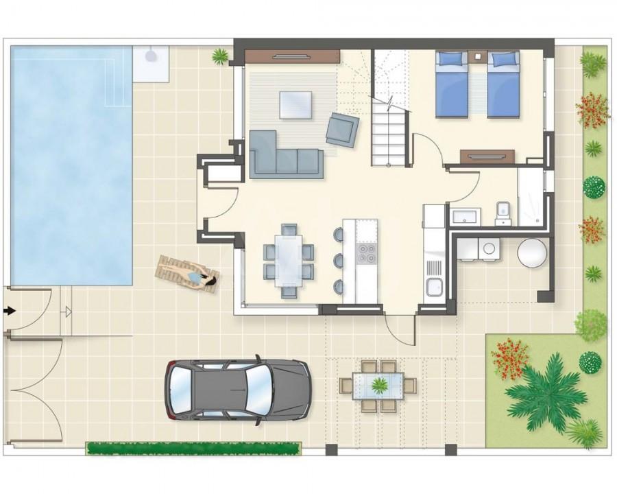 3 bedroom Apartment in Villamartin - GB7805 - 19