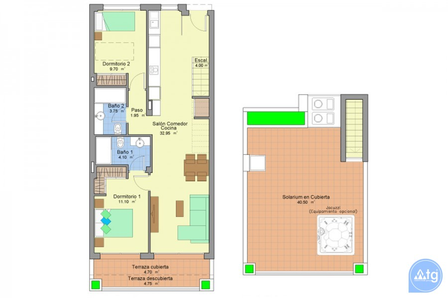 2 bedroom Apartment in Gran Alacant  - NR7229 - 13