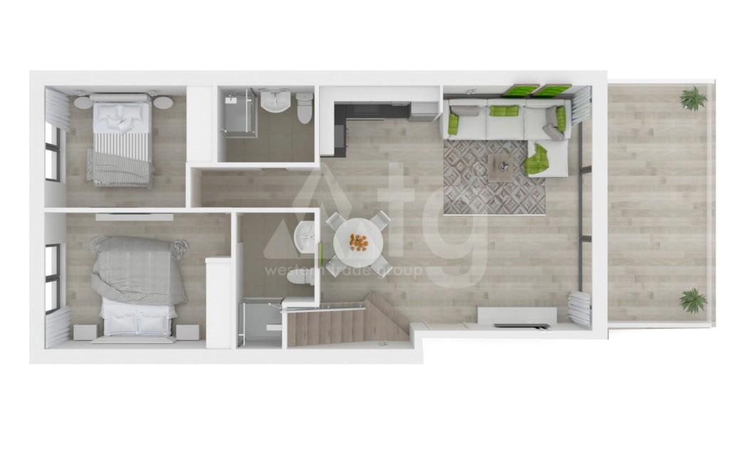 2 bedroom Duplex in Finestrat - CAM7716 - 22