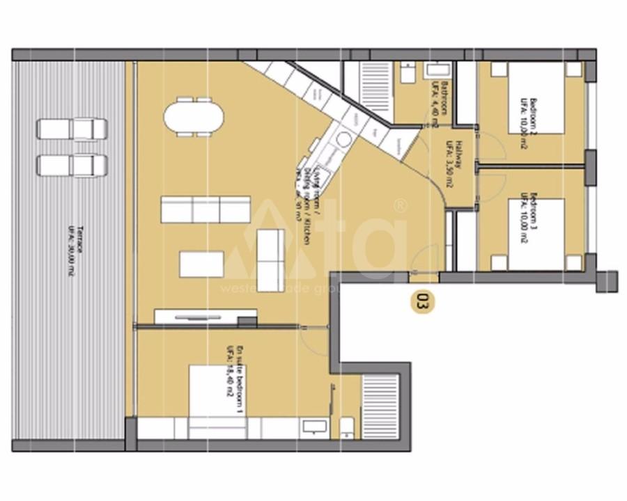2 bedroom Duplex in Finestrat - CAM7716 - 7