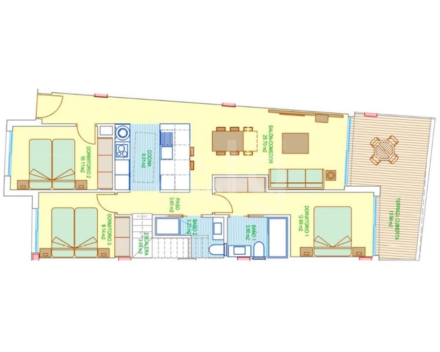 3 bedroom Villa in El Campello - M8146 - 16